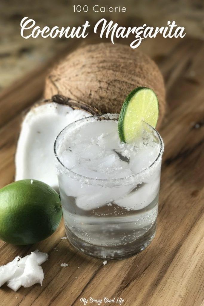 My Favorite 100 Calorie Coconut Margarita Recipe | LaCroix Margarita