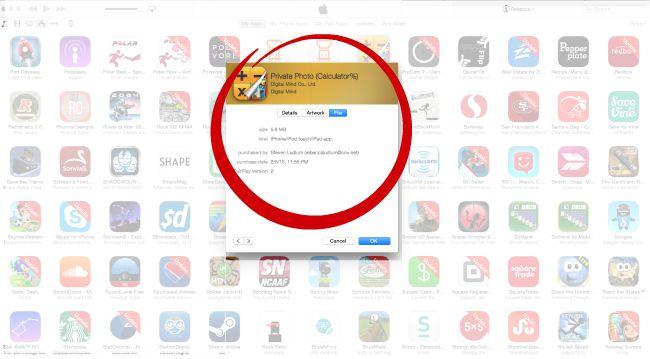 Find Calculator% app in iTunes