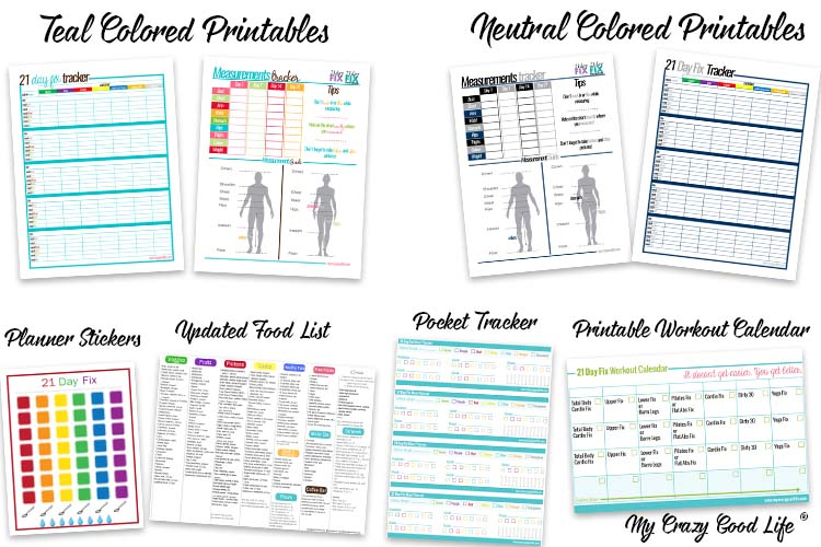 photo regarding 21 Day Fix Meal Planner Printable named 21 Working day Restore Printable Pack