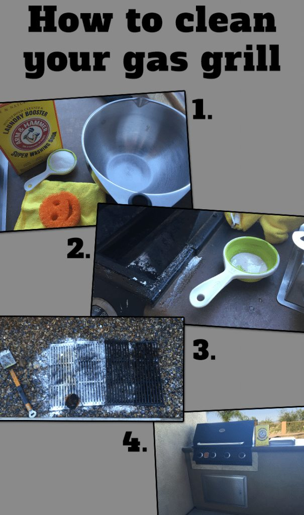 Wondering how to clean gas grill grates? I found the answer: Arm & Hammer Super Washing Soda does the trick! Come see how I tackled it.