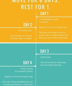 30 Day Low Impact Challenge