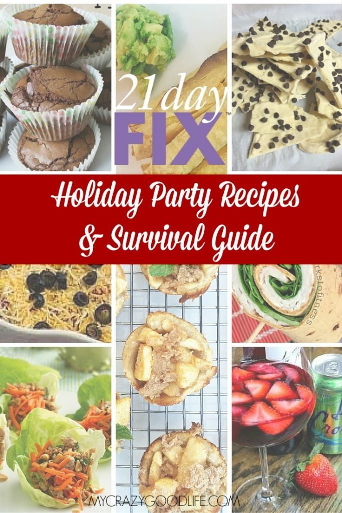 21 Day Fix Holiday Recipes and Survival Tips