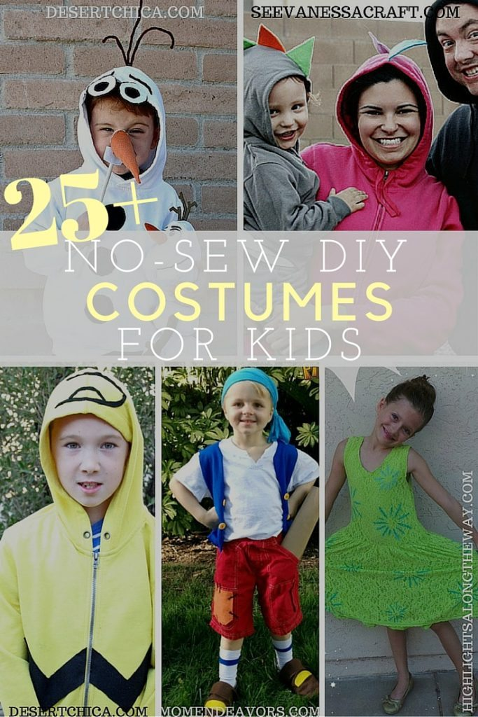 25+ no-sew DIY costumes for kids
