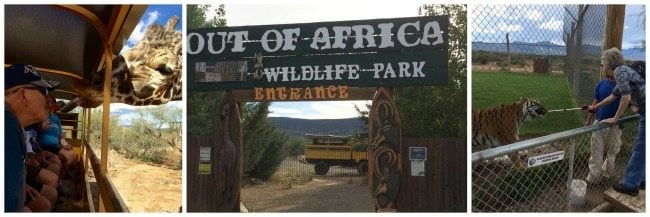 Out of Africa Wild Animal Park in Camp Verde, Arizona