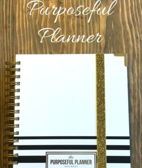 A review of the Purposeful Planner
