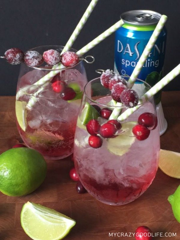 Cranberry-Lime-Mocktail