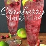 Low-Cal Cranberry Margarita recipe