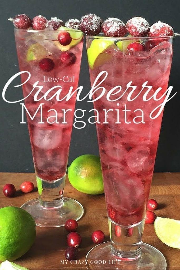 Low-Cal Cranberry Margarita Recipe