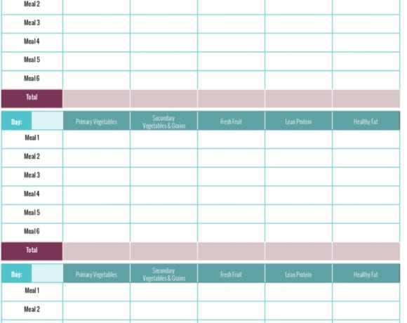 Here's a PiYo Food Tracker Worksheet so you can easily keep track of what you're eating while on the plan. I've also included some great PiYo recipes with container counts that you can try!