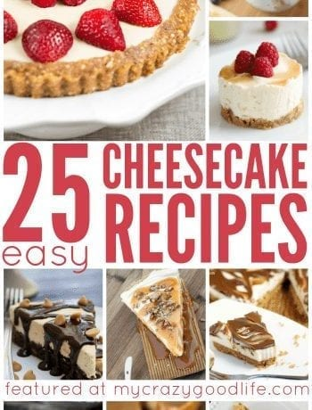 25 Easy Cheesecake Recipes