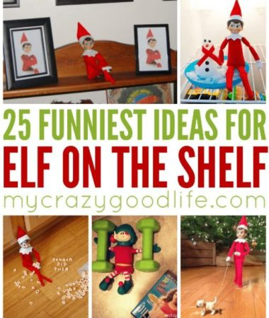 25 of the funniest Elf on the Shelf ideas for this season! It's not something to do every night, but sometimes you want a fun idea for your self. These are perfect Elf on the Shelf tricks for your family.