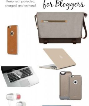 Gifts for Bloggers: Keep Tech Protected, Charged, and On Hand!