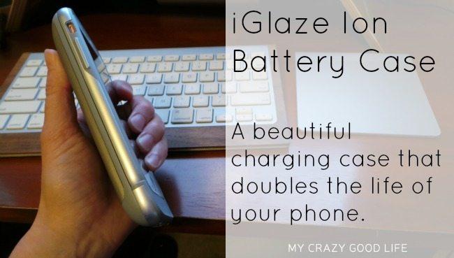 iGlaze Ion Battery Case