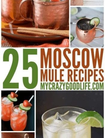 25 Moscow Mule Variations
