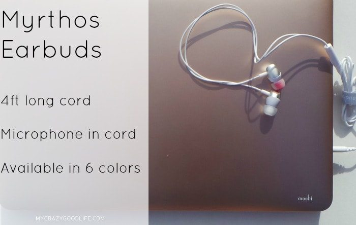 Gifts for bloggers: Myrthos Earbuds