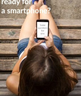 """""""Is my child ready for a smartphone?"""" A few questions to ask yourself (and them!)"""