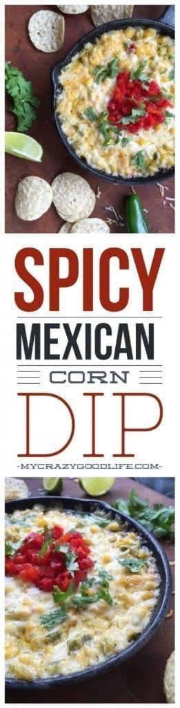 Warm & Spicy Mexican Corn Dip