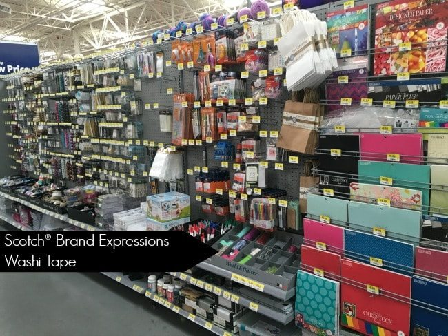 Scotch® Brand Expressions Washi Tape at Walmart
