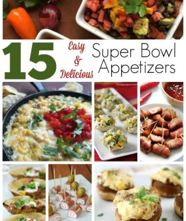 Easy and Delicious Super Bowl Appetizers