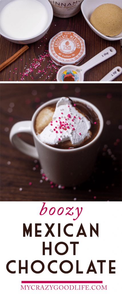 Boozy Mexican Hot Chocolate Recipe