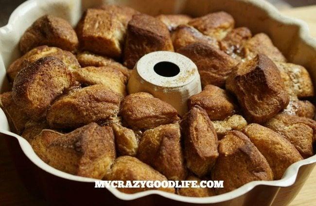 Chocolate Peanut Butter Monkey Bread