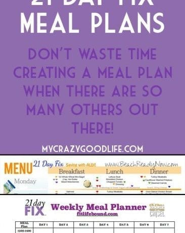 You don't have to spend hours creating a meal plan for the 21 Day Fix when there are already so mnay out there! Here are the most popular meal plans for the 21 Day Fix | 21 Day Fix Meal Plans