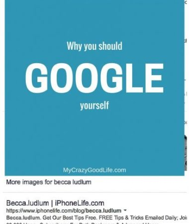 Did you know that most people never Google themselves? When you Google yourself, you can help to create a positive digital reputation for yourself. Here are a few ways to do that, and why it's important.