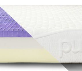 Our Purple Mattress Review: The Purple mattress is a comfortable and firm mattress that we love, almost three years later. There are no soft spots or sagging, and there is no need to turn it every few months. We are thrilled with our mattress purchase and the Purple customer service. #mattress #shopping #purplemattress