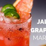 Jalapeño Grapefruit Margarita Recipe
