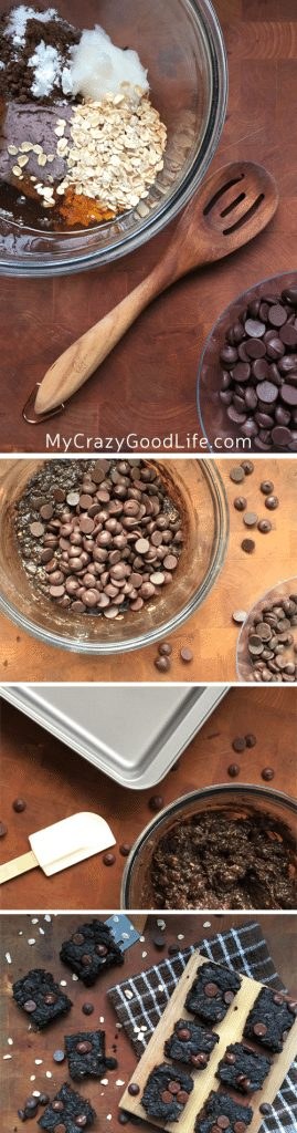 These black bean brownie protein bites are the perfect after workout snack! The protein in the beans helps repair your muscles, and the small brownie bite is the something sweet that you crave. These brownies have no flour or added sugar.
