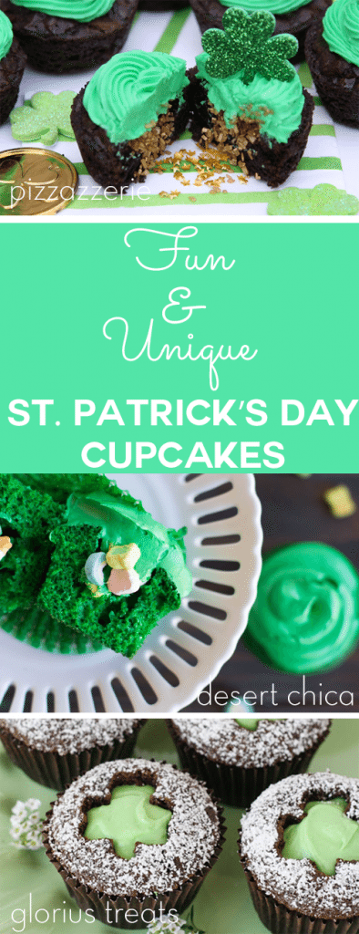 50 Unique and Fun St. Patrick's Day Cupcakes