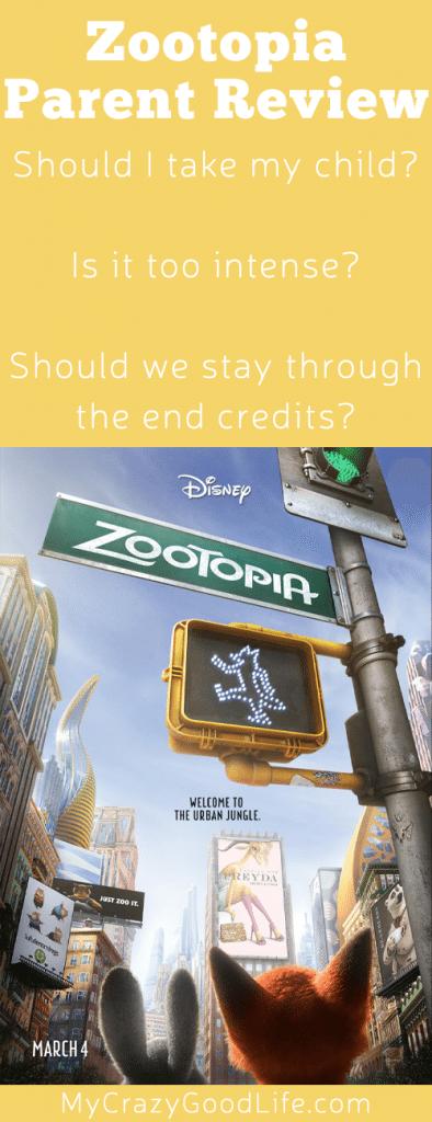 Zootopia: Parent Review
