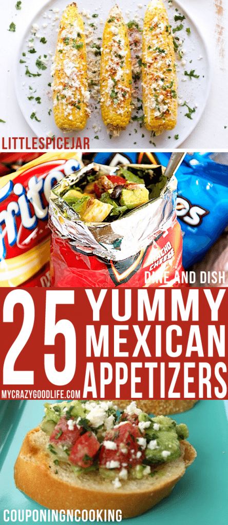 25 Yummy Mexican Appetizers
