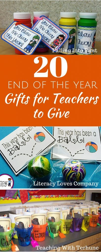 As the school year draws to a close around the country, we're all thinking about teacher gifts. While it's popular for children to give their teachers gifts at the end of the school year, but teachers like to give gifts too!