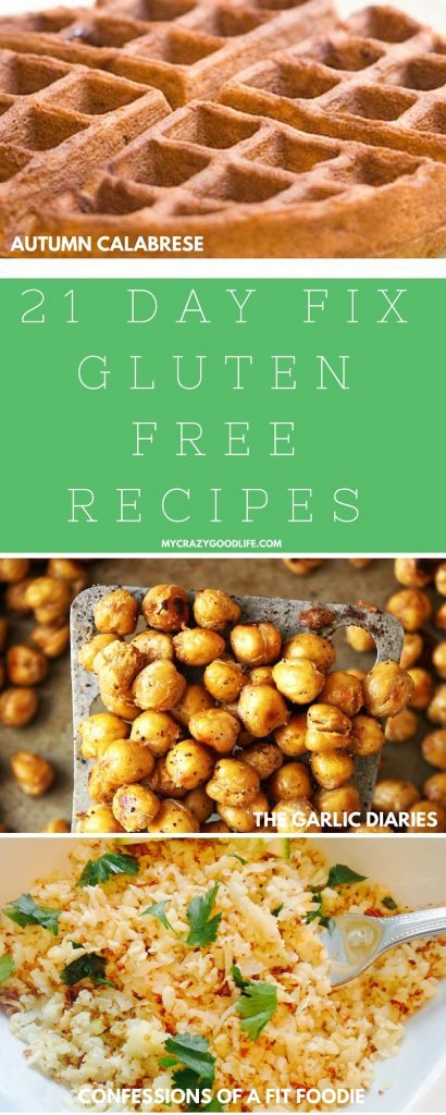 These 21 Day Fix Gluten Free recipes will help you stay on track without struggling to alter recipes to fit your gluten free lifestyle!