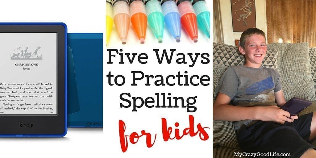 Five Ways to Practice Spelling for Kids