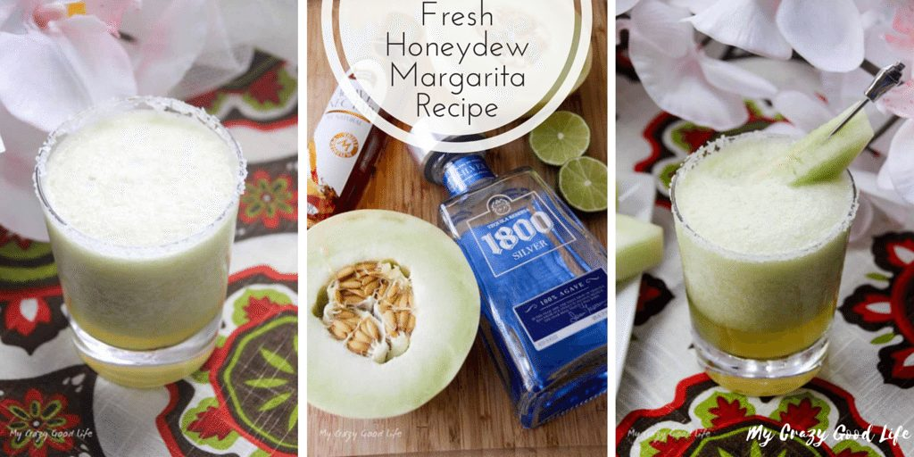 This Fresh Honeydew Margarita Recipe is perfect for hot summer days. It is refreshing, delicious, and a fun twist on the typical margarita recipes!