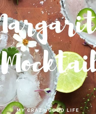 Sometimes you want a cocktail without alcohol–that's where a mocktail comes in! Refreshing and delicious, this sugar free (sweetened with SweetLeaf Stevia) Margarita Mocktail is the perfect treat!