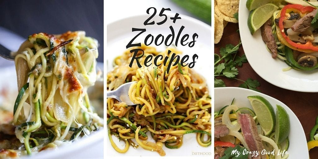 25+ Zoodles Recipes | Easy and Healthy Zoodles Recipes