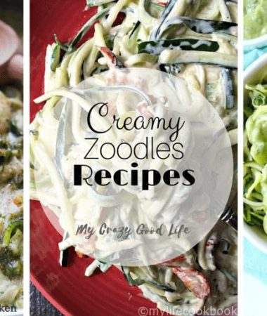 If you're looking for big time flavor without all the calories, creamy zoodles recipes are the way to go! You'll never even notice the missing pasta!