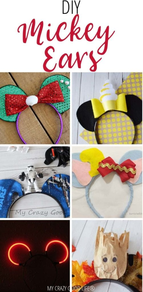 Disney Parks are great places to visit for the whole family, but bringing the whole family can get a bit costly. Instead of buying ears at the parks, make your own DIY Mickey ears at home!