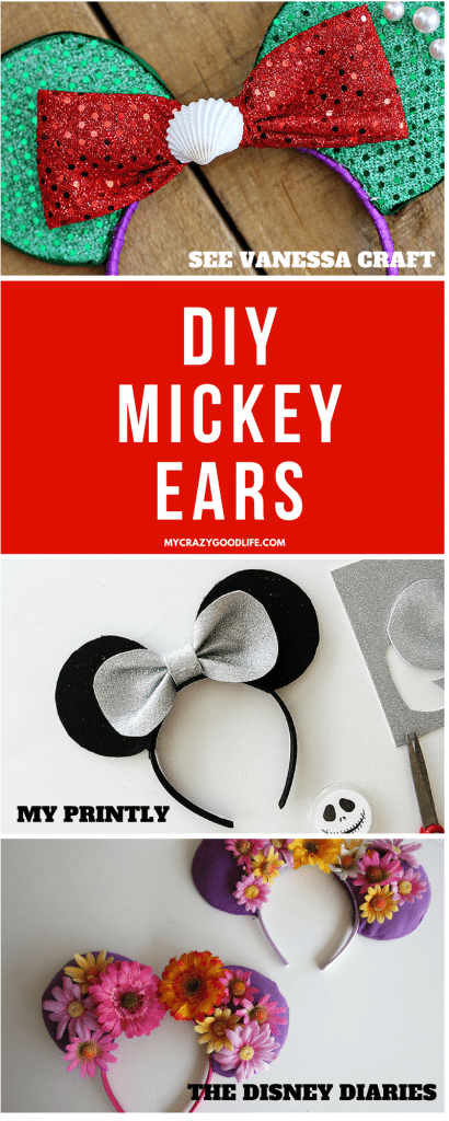 Diy Mickey Ears My Crazy Good Life