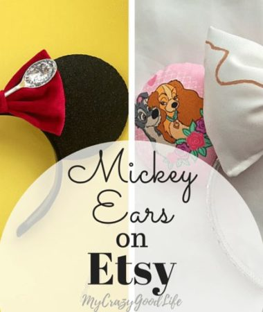 Buying Mickey Ears at the Disney parks can be costly. The online shop Etsy has some AMAZING custom Mickey Ears! Find a pair as unique as you are!