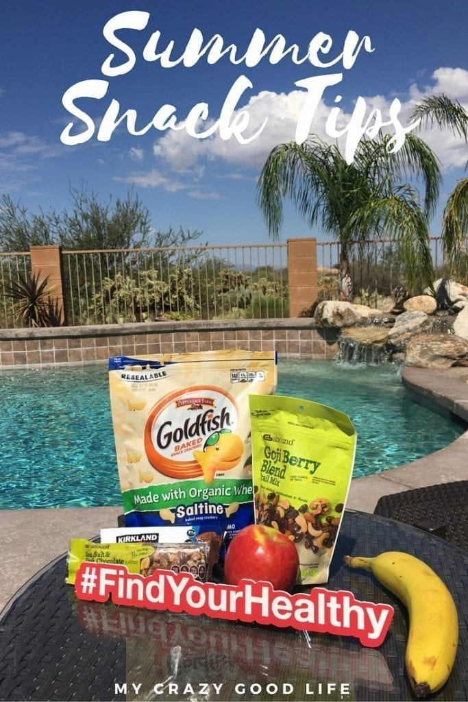 These last minute summer snack tips are perfect for days when you're running errands with your kids!