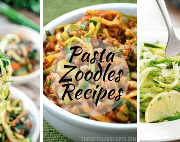 Zoodles Pasta Recipes