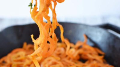If you haven't found a list of your favorite spiralizer recipes yet there's a good chance you aren't getting the full use out of your vegetable spiralizer! I'm here to change that!