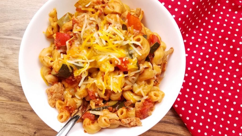 This goulash is one of my favorite recipes! Read on for some more delicious 21 Day Fix yellow container recipes!