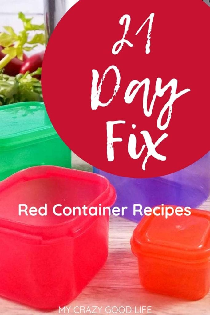 21 day fix red container image