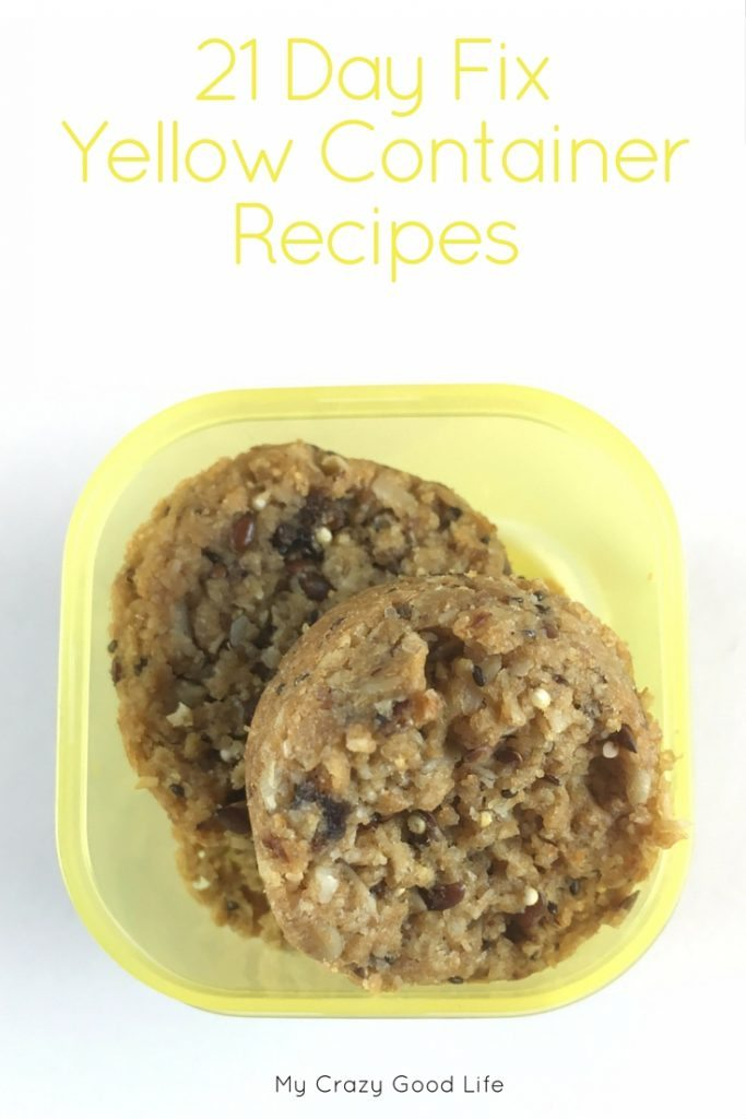 The 21 Day Fix program focuses on containers for different food groups. These 21 Day Fix Yellow Container Recipes will help you fill the grains containers!