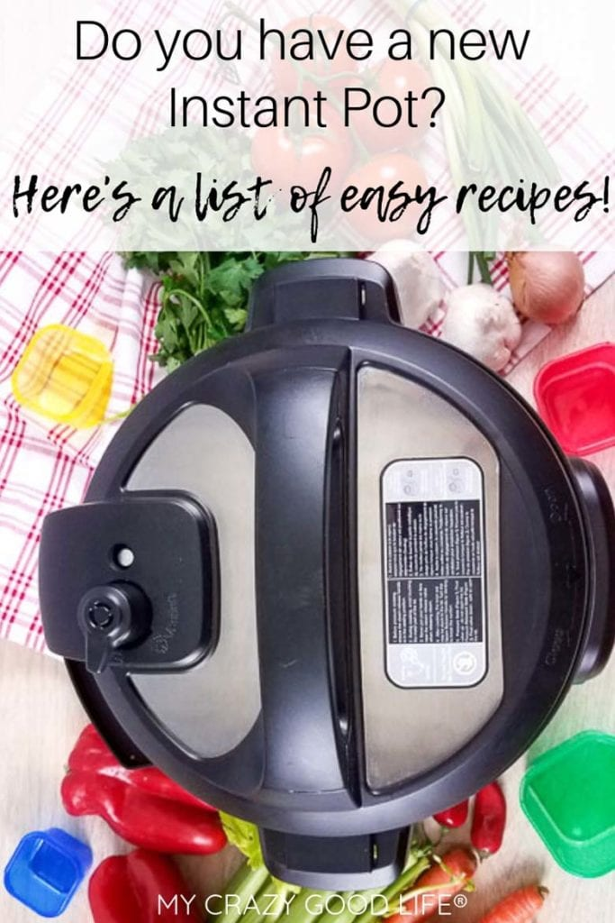 These easy Instant Pot recipes for beginners are perfect for those who have a new Instant Pot or are nervous to use it. Here are my Instant Pot tips, along with a few easy healthy Instant Pot recipes to get you started!